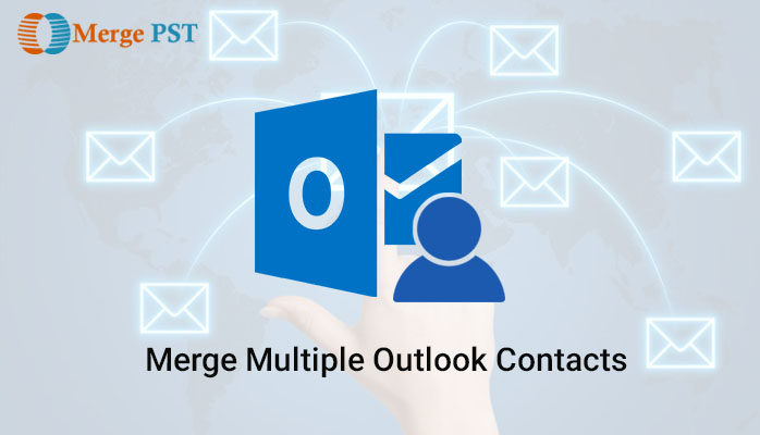 How to merge multiple outlook contacts